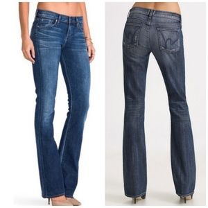 Citizens Of Humanity Low Waist Bootcut Jeans 25